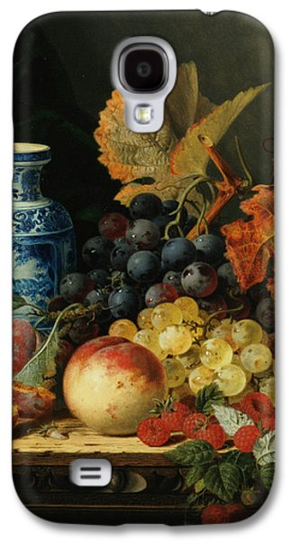 Pare Galaxy S4 Cases - Still Life With Rasberries Galaxy S4 Case by Edward Ladell