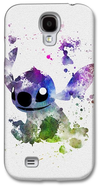 Animation Galaxy S4 Cases - Stitch Galaxy S4 Case by Rebecca Jenkins