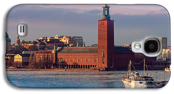 Architectural Galaxy S4 Cases - Stockholm City Hall Galaxy S4 Case by Inge Johnsson