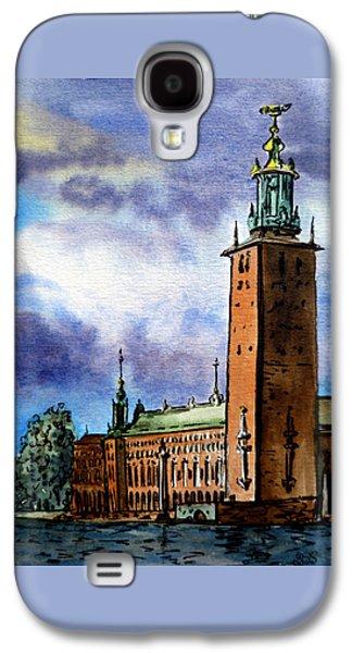 Stockholm Sweden Galaxy S4 Case by Irina Sztukowski