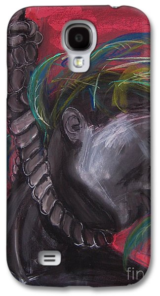Nature Study Pastels Galaxy S4 Cases - Stolen Resource Galaxy S4 Case by Gabrielle Wilson-Sealy