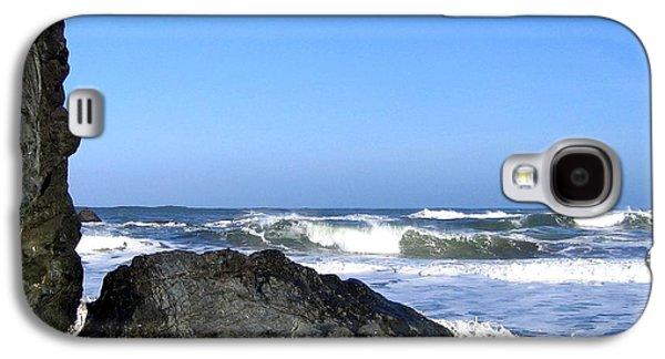 Stone Face Galaxy S4 Case by Will Borden