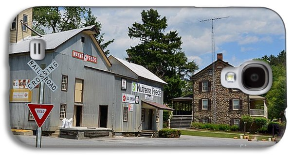 Old Feed Mills Galaxy S4 Cases - Stone House And Old Feed Mill Galaxy S4 Case by Bob Sample