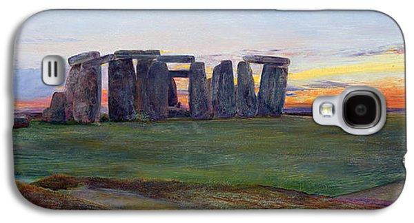 Stonehenge Galaxy S4 Case by John William Inchbold