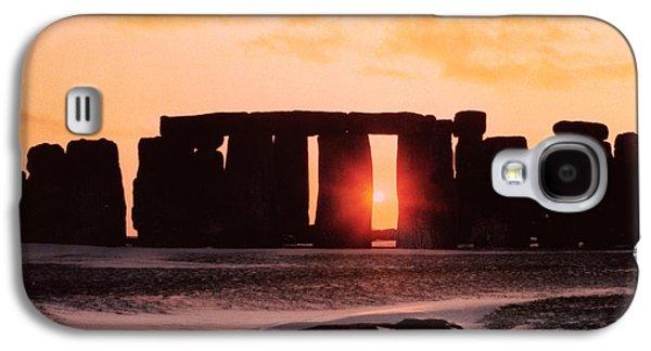 Stonehenge Winter Solstice Galaxy S4 Case by English School
