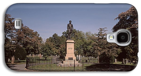 Slavery Galaxy S4 Cases - Stonewall Jacksons Grave in Lexington VA Galaxy S4 Case by Bill McMannis