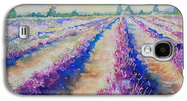 Stonewall Lavender IIi Galaxy S4 Case by Marsha Reeves