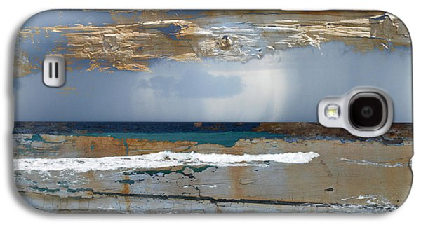 Storm Prints Pyrography Galaxy S4 Cases - Storm 2 Galaxy S4 Case by Anna Shutt