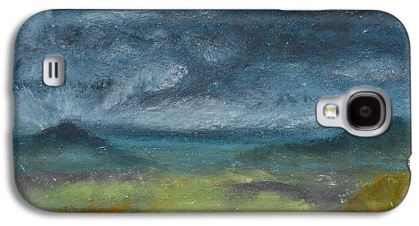 Storm Pastels Galaxy S4 Cases - Storm Over Yonder Sea Galaxy S4 Case by Donna Blackhall