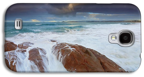 Knight Photographs Galaxy S4 Cases - Storm Tides Galaxy S4 Case by Mike Dawson
