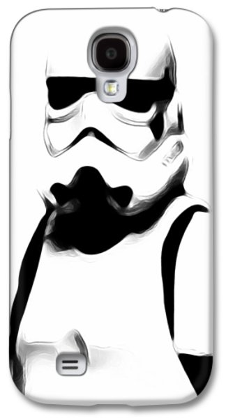 Storm Trooper Galaxy S4 Case by Athena Mckinzie