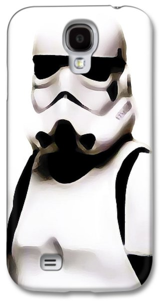 Storm Trooper II Galaxy S4 Case by Athena Mckinzie