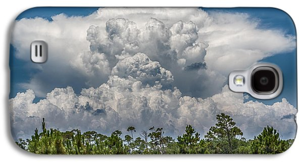 Colorful Cloud Formations Galaxy S4 Cases - Storms A Brewing Galaxy S4 Case by Paul Freidlund