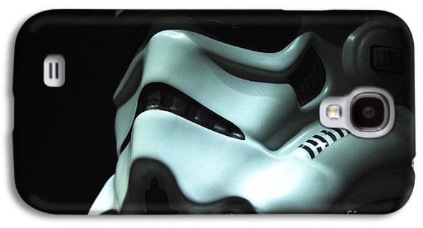 Uniform Galaxy S4 Cases - Stormtrooper Helmet Galaxy S4 Case by Micah May