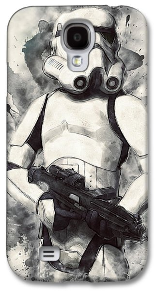 Stormtrooper Galaxy S4 Case by Taylan Apukovska