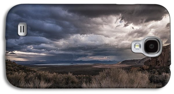 Cloudy Day Galaxy S4 Cases - Stormy Day Galaxy S4 Case by Cat Connor