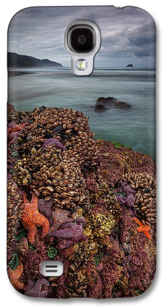 Ocean Art Photography Galaxy S4 Cases - Stormy Life at Sea Galaxy S4 Case by Darren  White