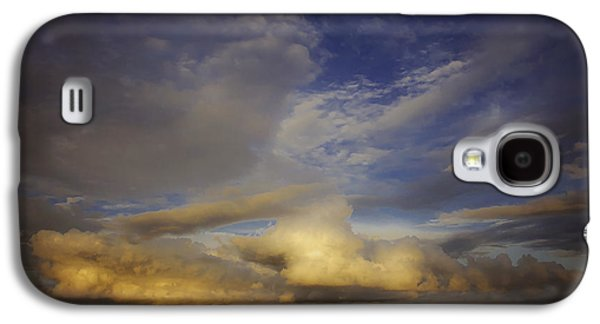 Landscapes Photographs Galaxy S4 Cases - Stormy Sunset Galaxy S4 Case by Toni Hopper