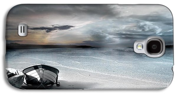 Waterscape Galaxy S4 Cases - Stranded Galaxy S4 Case by Photodream Art