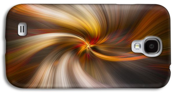Sunset Abstract Galaxy S4 Cases - Strands of Light Galaxy S4 Case by Debra and Dave Vanderlaan