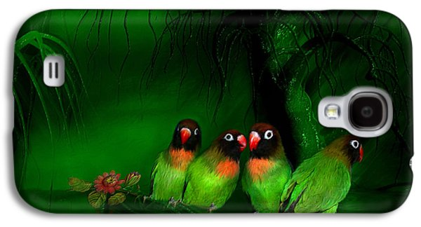 Strange Love Galaxy S4 Case by Carol Cavalaris
