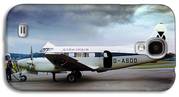 Strathair De Havilland Dh.104 Dove G-asdd Galaxy S4 Case by Wernher Krutein