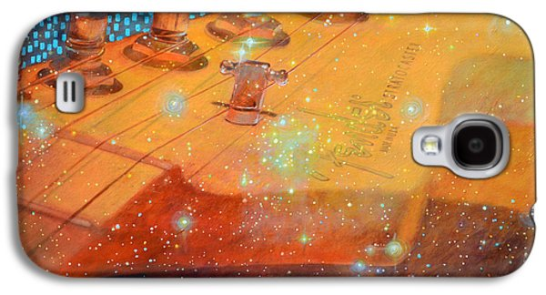 Best Sellers -  - Constellations Paintings Galaxy S4 Cases - Stratosecho Galaxy S4 Case by Bonnie Gordon Ferris