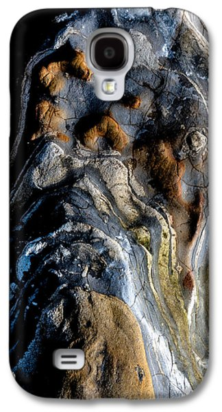 Blue Abstracts Galaxy S4 Cases - Stratum Oceanus Galaxy S4 Case by Alan Hart