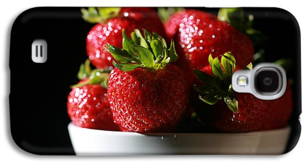 Michael Sweet Galaxy S4 Cases - Strawberries  Galaxy S4 Case by Michael Ledray