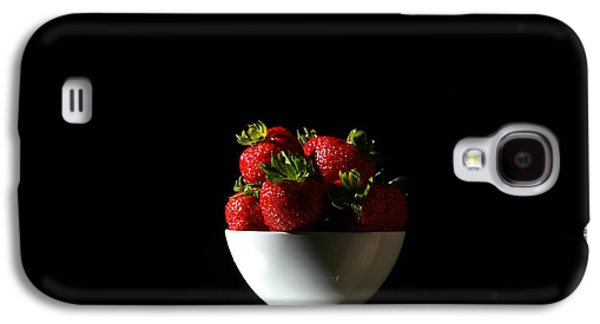 Michael Sweet Galaxy S4 Cases - Strawberries still life Galaxy S4 Case by Michael Ledray