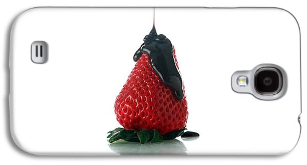 Michael Sweet Galaxy S4 Cases - Strawberry and Chocolate Galaxy S4 Case by Michael Ledray