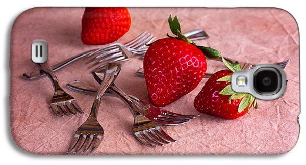 Strawberry Delight Galaxy S4 Case by Tom Mc Nemar