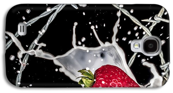 Strawberry Extreme Sports Galaxy S4 Case by TC Morgan