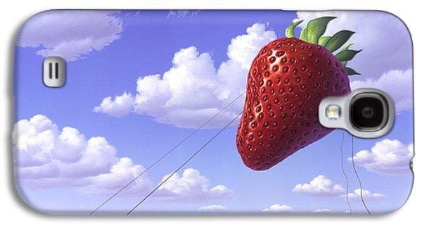Strawberry Field Galaxy S4 Case by Jerry LoFaro