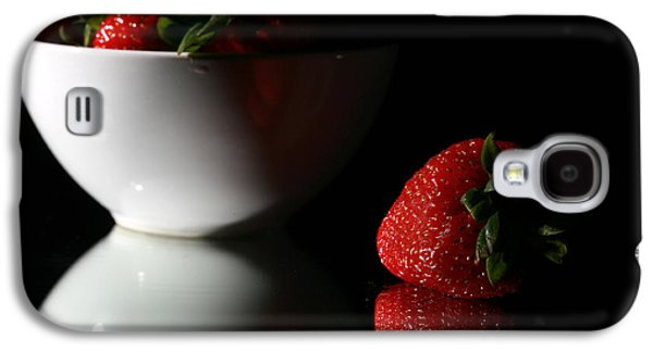 Michael Sweet Galaxy S4 Cases - Strawberry Galaxy S4 Case by Michael Ledray