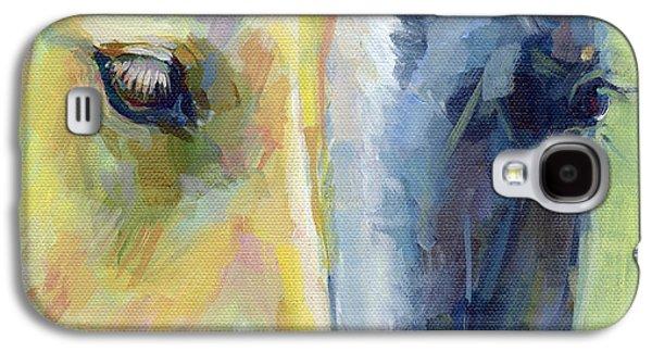 Stripes Galaxy S4 Case by Kimberly Santini