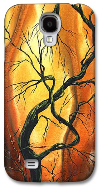 Modern Abstract Galaxy S4 Cases - Striving to be the Best by MADART Galaxy S4 Case by Megan Duncanson