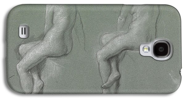 Fantasy Pastels Galaxy S4 Cases - Studies of the nude Galaxy S4 Case by Sir Edward John Poynter