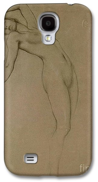 Nudes Pastels Galaxy S4 Cases - Study for Clyties of the Mist Galaxy S4 Case by Herbert James Draper