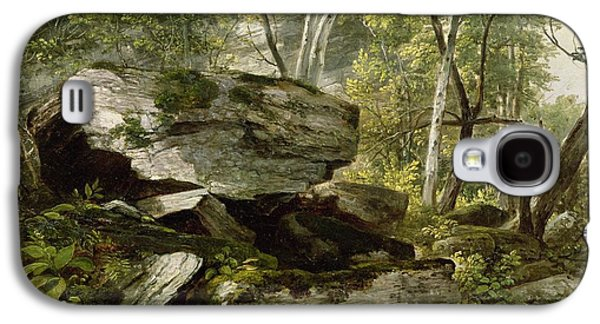 Study From Nature   Rocks And Trees Galaxy S4 Case by Asher Brown Durand