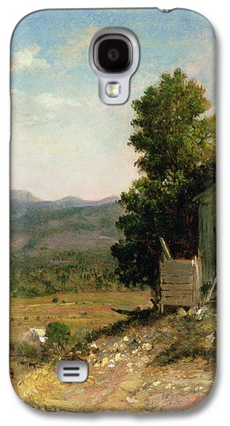 Study Of Old Barn In New Hampshire Galaxy S4 Case by George Loring Brown