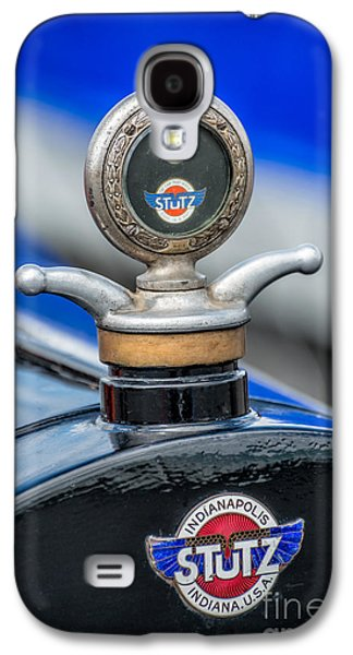 Car Mascot Digital Galaxy S4 Cases - Stutz Motor Company Galaxy S4 Case by Adrian Evans
