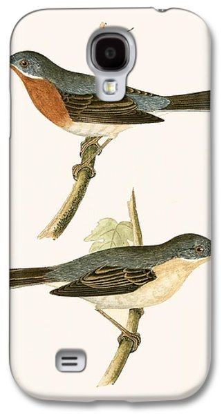 Sub Alpine Warbler Galaxy S4 Case by English School