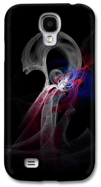 Abstract Movement Galaxy S4 Cases - Subluxation Galaxy S4 Case by Burtram Anton