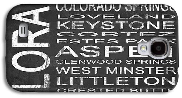 Subway Colorado State 2 Square Galaxy S4 Case by Melissa Smith