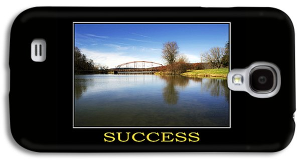 Success Inspirational Motivational Poster Art Galaxy S4 Case by Christina Rollo