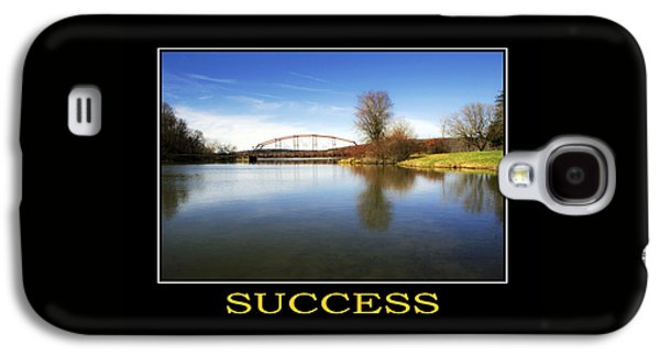 Rollosphotos Digital Galaxy S4 Cases - Success Inspirational Motivational Poster Art Galaxy S4 Case by Christina Rollo