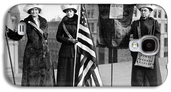 Protesters Galaxy S4 Cases - SUFFRAGETTES, c1910 Galaxy S4 Case by Granger