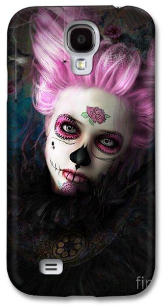 Sugar Doll Pink Galaxy S4 Case by Shanina Conway