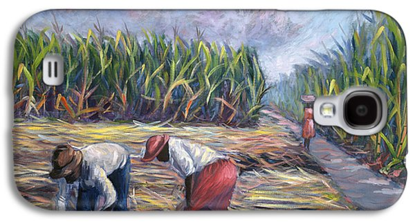 Harvest Time Galaxy S4 Cases - Sugarcane Harvest Galaxy S4 Case by Carlton Murrell